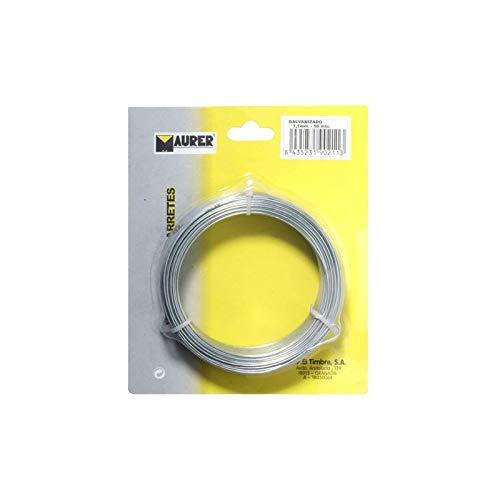 MAURER 1010084-fils galvanisé 1,50 mm/10