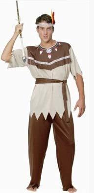 Macxy - Cosplay Indian Halloween-Kostüme für Männer,
