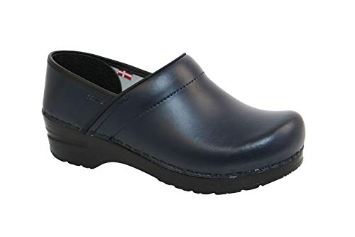 Sanita|Professional PU Damen|Clogs Blue 41 Sanita Professional Clogs