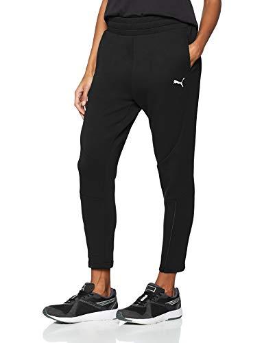 Puma evostripe move s, pantaloni tuta donna, nero (cotton black), l