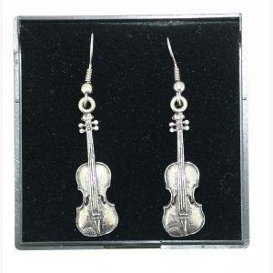 pewter-earrings-violin