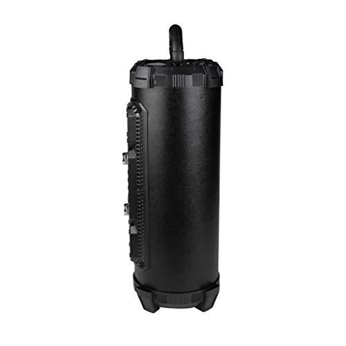 Lautsprecher, Chshe, Led Bluetooth 4.2 Drahtloser Fm-Lautsprecher Stereo-Subwoofer Bass Lauter Aux-Usb-Tf, Ch-M18A-Gehäuse Bluetooth-Lautsprecher ()