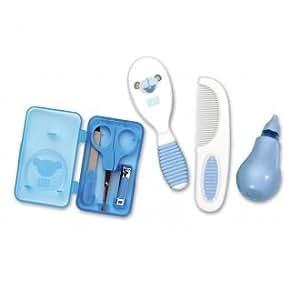 Set de toilette bébé bleu Saro