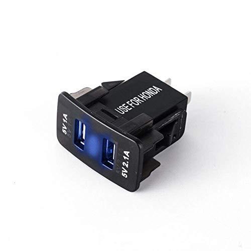 Cargador de coche, 3,1 A, enchufe de alimentación USB de doble puerto...