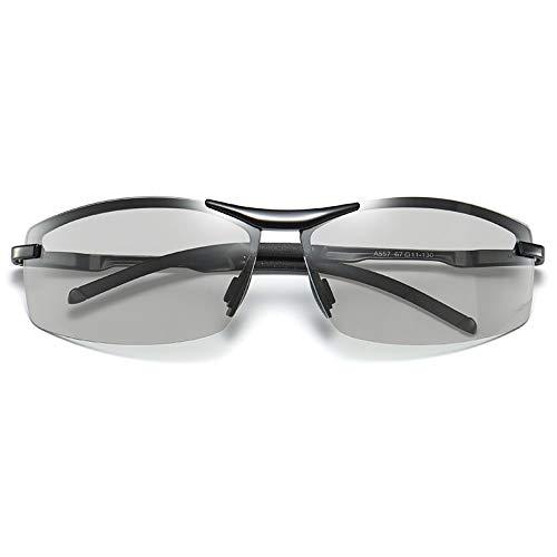 FSJCB Gafas De Sol Polarisierende Und Entfärbende Sonnenbrillen Tag Und Nacht Für Männliche Fahrer, Die Brillen Fischen, Die Nachtsicht Fahren, Um Spezielle Herren-Sonnenbrillen Zu Fahren
