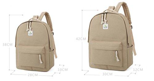 FZHLY Piccolo Dolce Canvas Shoulder Bag Borsa Studente,MintGreen-Small White-Small