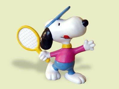 Snoopy als Tennis Spieler Schleich Figur 22224 (Tennis-spieler)