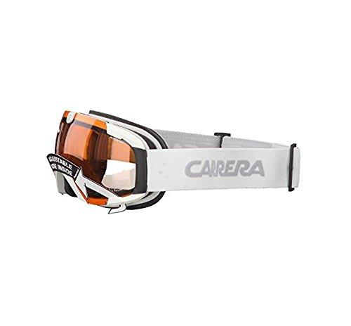 Carrera Herren Skibrille Cliff Evo Sph Weiß/Matt/Rosa/Polar, Einheitsgröße