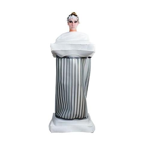 Kostüm griechische Säule Einhgr. Mottoparty Griechenland Antike Rom Fasching (Griechischen Frau Kostüm)