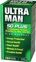 Vitamin World Ultra Man 50 Plus Performance Multi Vitamin, 120 Caplets by Vitamin World