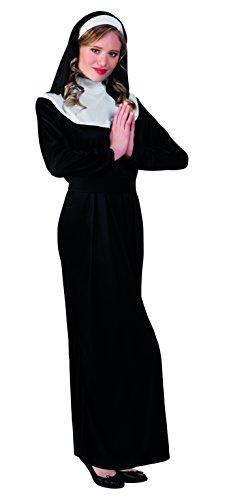 hsenenkostüm Nonne, schwarz (Nonne Verkleiden)