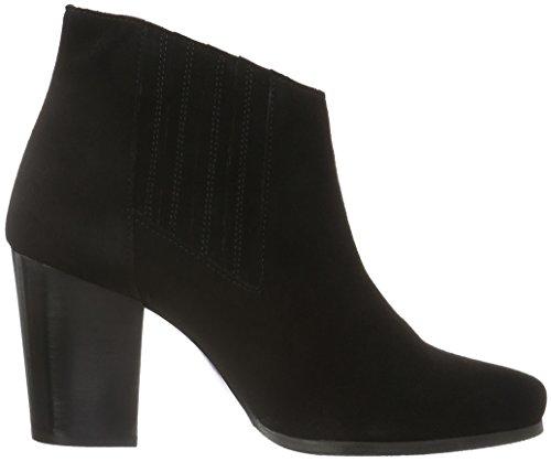 Chaussures Blue Jja16, Bottes Basses Avec Rembourrage Léger Pour Femmes (schwarz (10 / Noir))