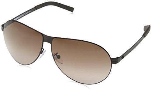 Momodesign Herren Sonnenbrille Smd036 Grau (SEMI-MATT BROWN) Einheitsgröße
