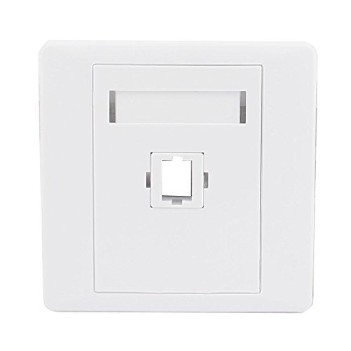 DealMux SC Fiber Optical Patch Cord Connector Mount Sockets Wall Plate Panel -