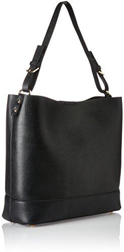 ESPRIT Damen 097ea1o028 Tote, 12,5 x 31,5 x 32 cm Schwarz (Black)