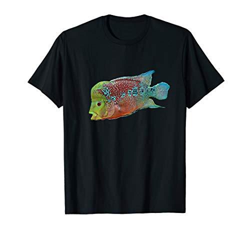 Flowerhorn-Cichlid-Frischwasseraquariumfische T-Shirt -