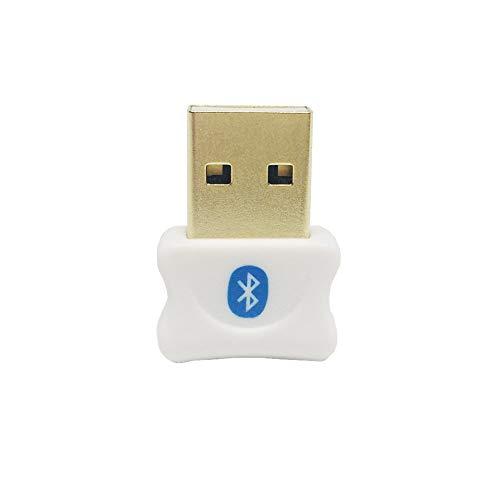 UMICOM Bluetooth Adapter, CSR 5.0 Bluetooth Dongle, Wireless USB Bluetooth 5.0 Receiver and Transmitter, for PC, Laptop Desktop Computer for Windows 10, 8.1, 8, 7, Vista, XP, Linux - 2 Piece