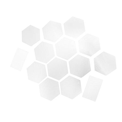 Espejo-de-Pared-de-Moda-Hexagonal-Espejo-Adonado-para-Hogar-de-Color-Plateado