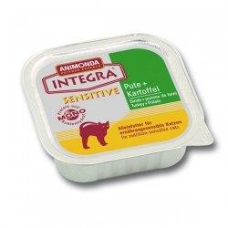 Animonda Integra Sensitive Pute & Kartoffel 100 g, Futter, Tierfutter, Nassfutter für Katzen