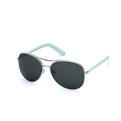 Sport-Sonnenbrillen, Vintage Sonnenbrillen, Sunglasses Women Fashion Gold Frame Classic Female Unisex Sun Glasses For NEW Outdoor Eyewear UV400 Gafas De Sol Green