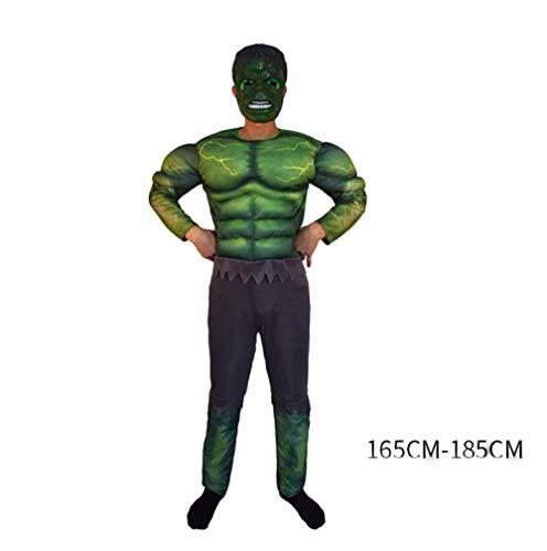 ASJUNQ Captain America Cosplay Kostüm Red Iron Man Batman Spiderman Superman Halloween ErwachseneKostüm Thema Party Movie ()