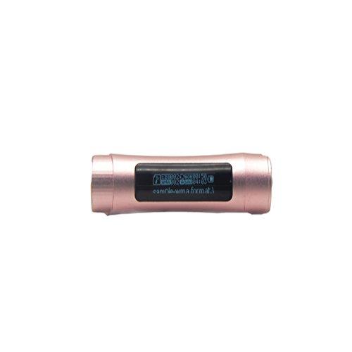 smartera® 4GB Wasserdicht Unterwasser MP3mit LED Display + FM Radio Anzug für Schwimmen, SPA, Surfen, Joggen, Klettern und andere Sport (Pink)