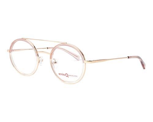 Etnia Barcelona Brille (SHENZHEN PK) Metall - Acetate Kunststoff gold-kupfer - kristall rosa