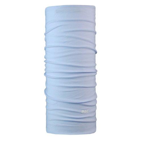 PAC Headwear original Solid Light Blue multifonction Chiffon Tuyau Chiffon Bleu