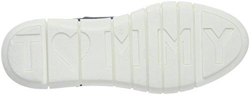 Tommy Hilfiger M1285iro 2b, Scarpe da Ginnastica Basse Donna Blu (Riviera 415)