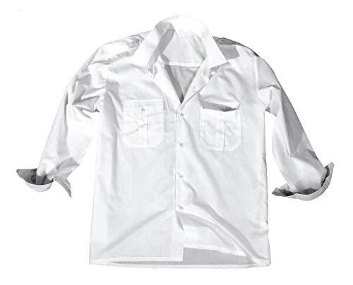 Diensthemd 1/1 bras-blanc-taille xL