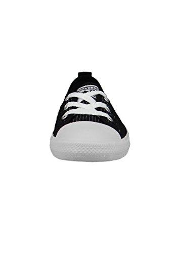 Converse Mandrini Ballerina 551656C grigio Dainty All Star Ballet Lace mouse Bianco Nero Black White White
