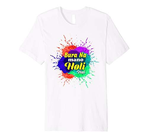 35fa270d Holi hai t-shirts the best Amazon price in SaveMoney.es