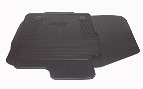 Genuine Ford Fiesta Front Rubber Car Mats, Custom-Fit Set