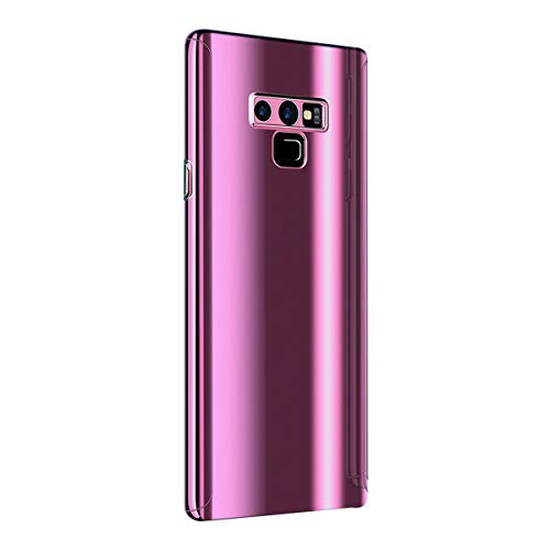 Hülle Compatible with Samsung Galaxy Note 9 Hülle 3 in 1 Ultra Dünner Glatt Hard PC Oberfläche 360 Komplett Anti-Kratzer Bumper Cover für Samsung Galaxy Note 9 (Note 9, Purple)