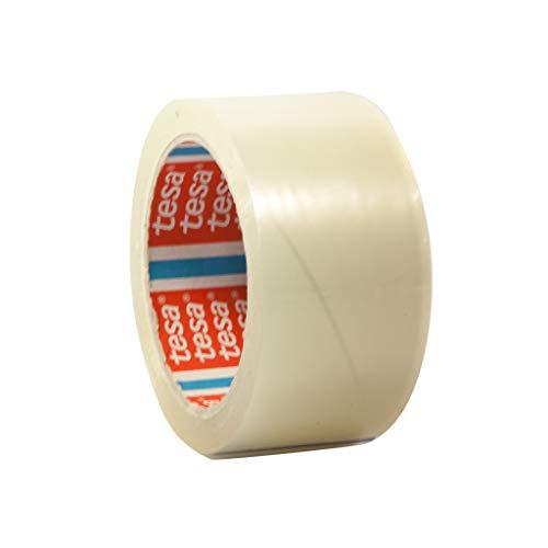 tesa 64014 Klebeband Paketklebeband Packband 66m x 50mm (24 Rollen, Transparent)