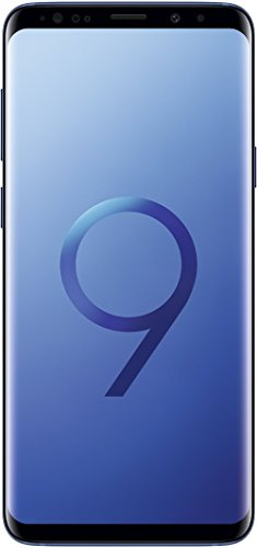 Samsung Galaxy S9+ Smartphone (6,2 Zoll Touch-Display, 64GB interner Speicher, Android, Dual Sim) Coral Blue - Internationale Versionen (Generalüberholt)