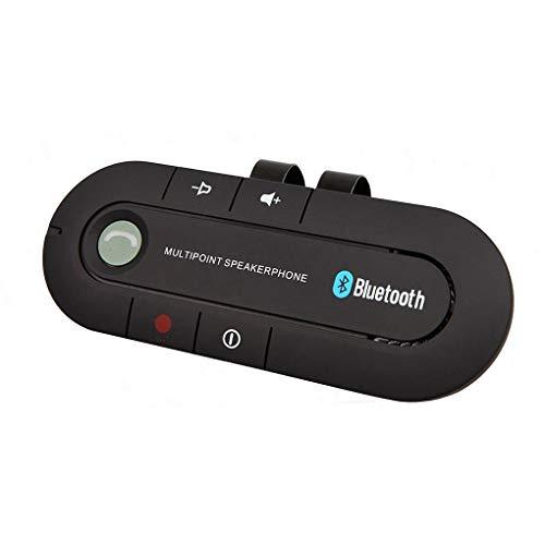 Providethebest Sonnenblende Bluetooth-Freisprecheinrichtung Car Kit Bluetooth Audio Receiver Starke...
