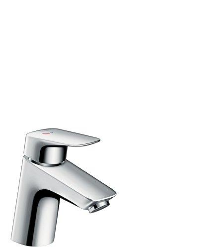 Hansgrohe - Einhebel-Waschbeckenarmatur, Ablaufgarnitur, CoolStart, Chrom, Serie Logis 70