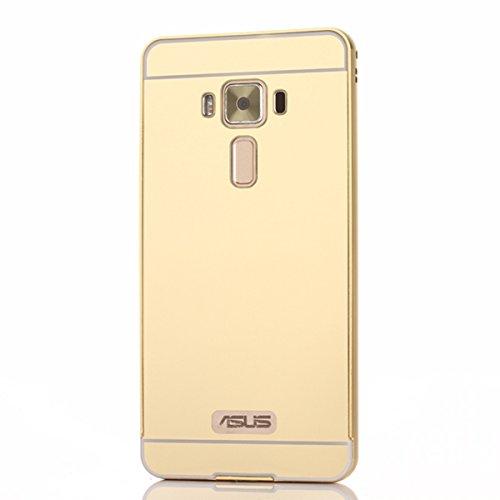 Asus ZenFone 3 Deluxe ZS570KL 5.7 inch Hülle Ultra dünn Case [Anti-Fingerabdruck] Casefirst TPU Schutz Flexible [Scratch] Silikon Schutzhülle [Stoßfest] Handyhülle Schmaler Cover - Asus ZenFone 3 Deluxe ZS570KL 5.7 inch Golden