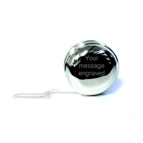 personalisierbar poliert chrom Yo-Yo