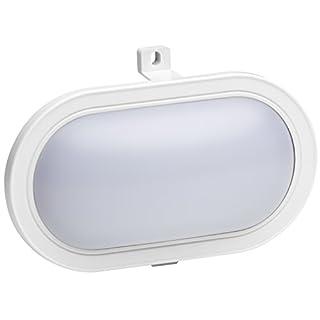 Meister LED-Ovalleuchte 5,5 W, 450 Lumen, IP44, weiß, 7490640