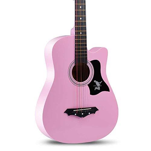 8 Nylon-einsatz (Boll-ATur Blaue Ballade Akustikgitarre Anfänger Kinder Klassische Akustikgitarre Mehrfarbig Optionaler elektronischer 38-Zoll-Gitarren-Tuner (Color : Style 8))