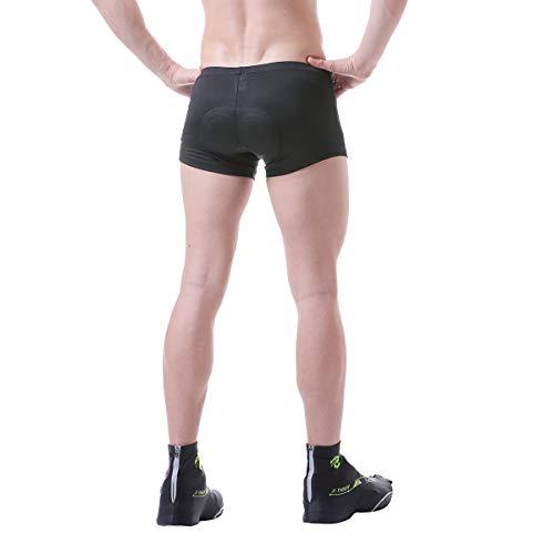 Letook Pantaloncini Bici Imbottito in Gel da Uomo Traspirante