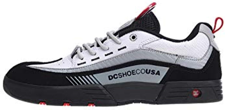 DC DC DC scarpe ,  Stivali Uomo, Nero (nero - nero bianca rosso), 42.5 EU | marchio  3238f0