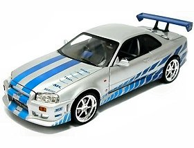 Fast & Furious - 1:18 Scale Nissan Skyline for sale  Delivered anywhere in UK