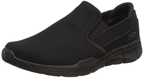 Skechers Men's Equalizer 3.0- Sumnin Slip On Sneakers, Black (Black Bbk), 9 UK (43 EU)
