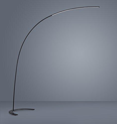 Trio Leuchten, Lampada LED a piantana ad arco, 18.0 Watt, 1800 lumen ...