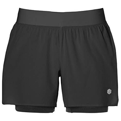 Asics 2-In-1 5.5-In Women's Laufen Sackartige Shorts - AW18 - Small (Womens Running Shorts Small)