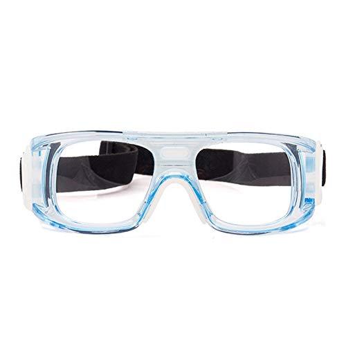 Adisaer Sportsonnenbrille Mit Sehstärke Outdoor Schutzbrillen Für Sportbrillen Atmungsaktive Fußball Basketballbrillen Clear Blue Damen Herren