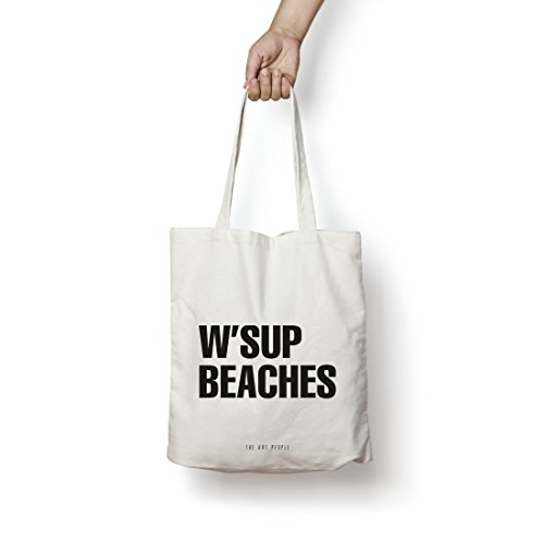 [Sponsored]Beaches Tote Bag| Canvas| Fashion| Eco Friendly| Shoulder Bag| For Gym Beach Shopping College| The Art People|